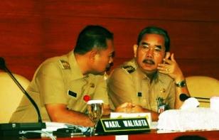 Walikota JP dan Pak Wakil